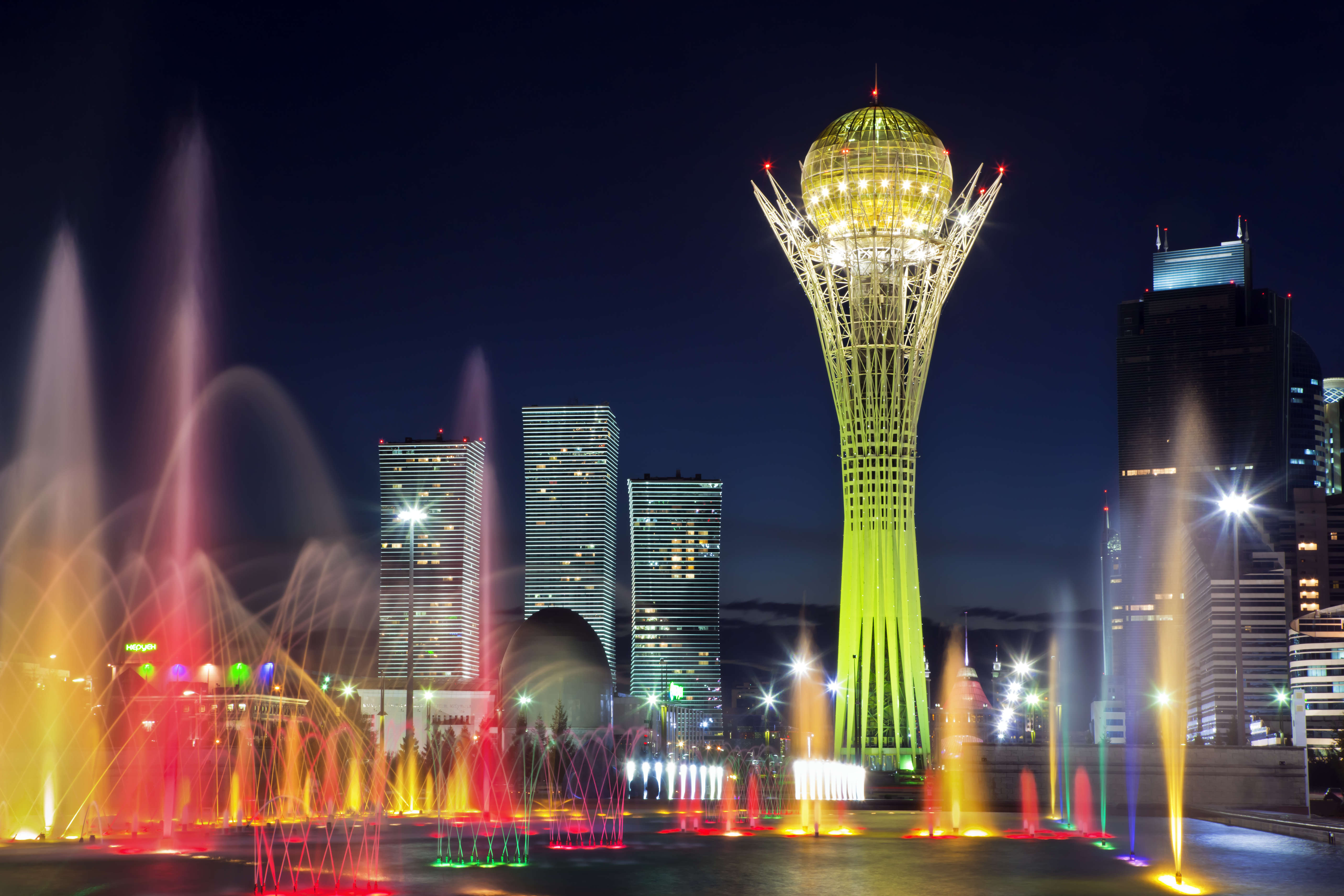 Nur-Sultan, Kazakhstan, Institute of Functional Neurology n.a. Jose Palomar - Foundation Series 2020